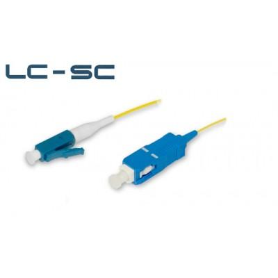 Шнур оптический переходной LC-SC sm simplex