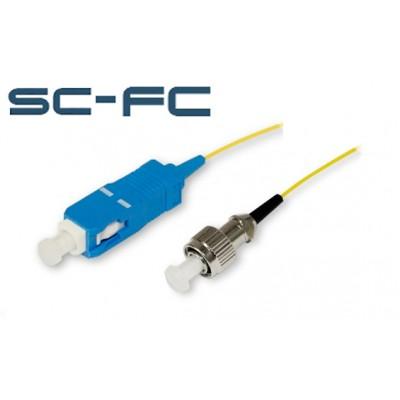 Шнур оптический переходной SC-FC sm simplex