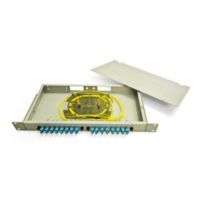 Кросс в стойку со съемными панелями RE 1U SC/SM 16-16-1