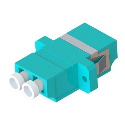 Адаптер LC duplex OM3