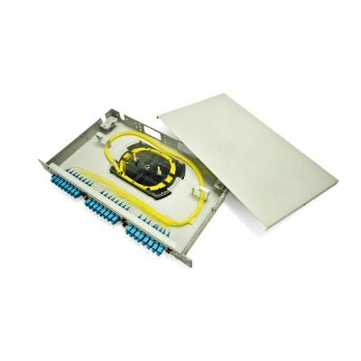 Кросс в стойку со сменными панелями RS16-1U SC/MM