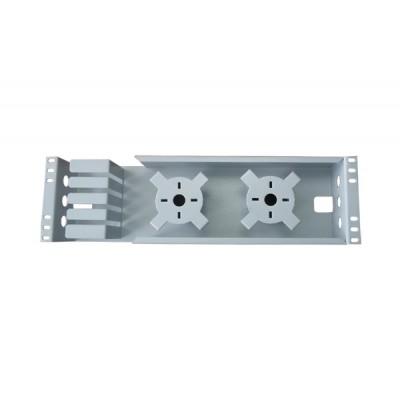 Органайзер 3U (коробка/модуль) для укладки запасадлин оптических шнуров и кабеля
