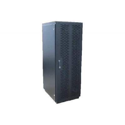 Телекоммуникационный серверный шкаф, дверь металл. ШТМ 24U/400