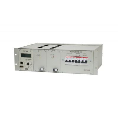 Источник бесперебойного электропитания ИБЭП-220/24B-24A-2/2 (360)-3U