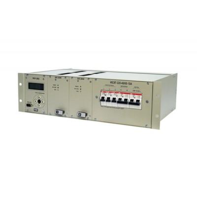 Источники бесперебойного электропитания ИБЭП-220/48B-10A- 3U-LAN