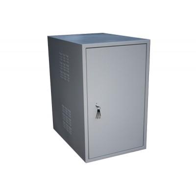 Климатический шкаф, уличный термошкаф ТШм 700х400х22U с вентиляционными жалюзи