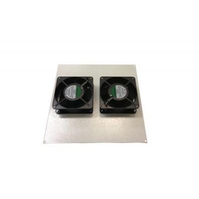Блок вентиляторов для термошкафа с комплектом фильтров 2х220В
