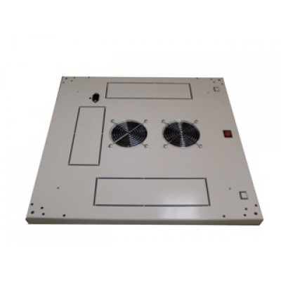 Блок вентиляторов в крышу шкафа 2х220В с термостатом
