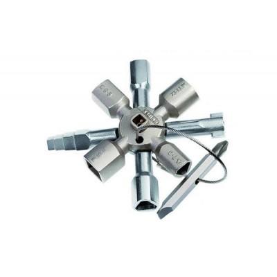 Ключ для электр. с битой и переходником KN-001101