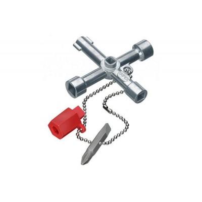 Ключ для электр. с битой и переходником KN-001103