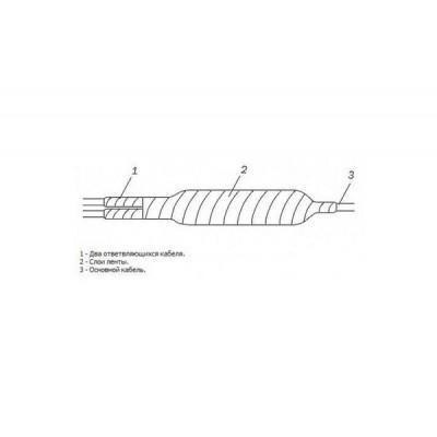 MBCCK 300/500 компрессионная универсальная муфта на 300-500 пар