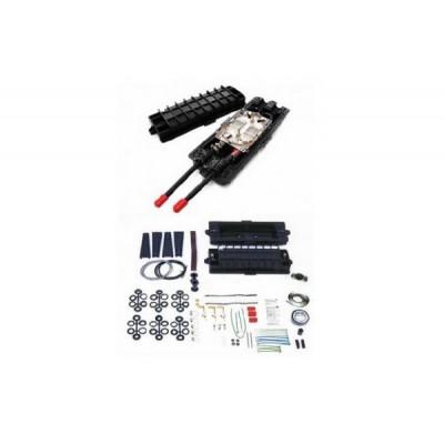 2179-CS муфта для ОВ кабеля, 2 кассеты, 48 сростков